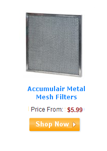 Accumulair Metal Mesh Filters