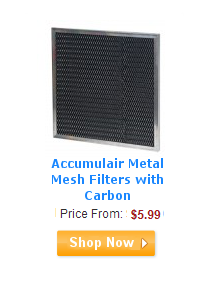 Accumulair Metal Mesh Filters with Carbon