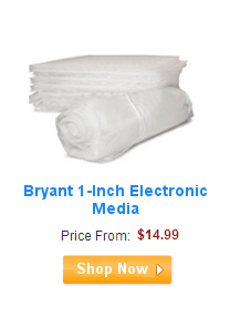 Bryant 1-Inch Electronic Air Filters