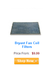 Bryant Fan Coil Filters
