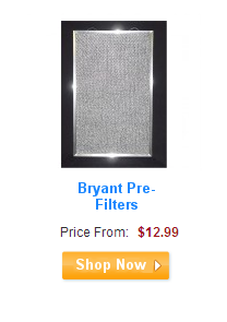 Bryant Pre-Filters