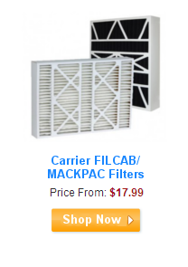 Carrier FILCAB/MACKPAC Filters