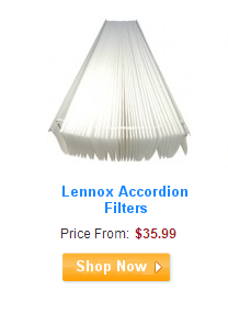 Lennox Accordion Filters